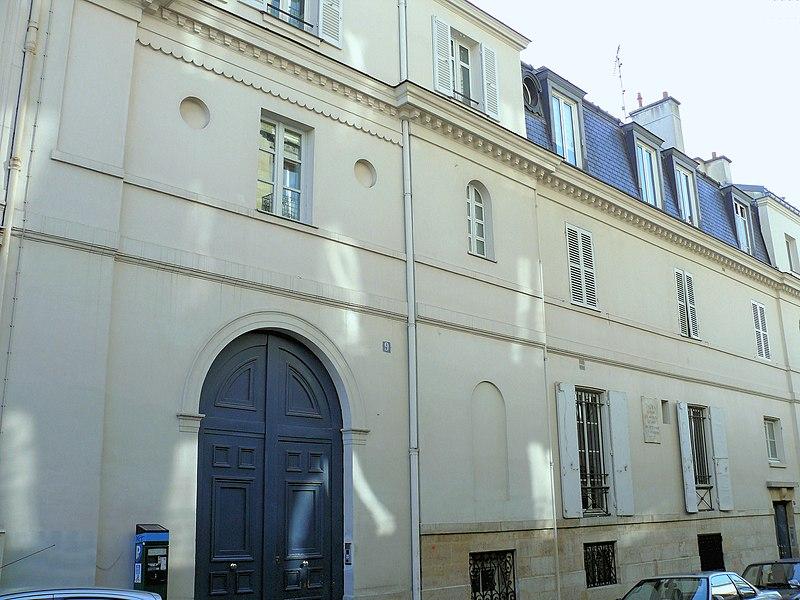 Photo du Monument Historique Hôtel Talma situé à Paris 9e Arrondissement