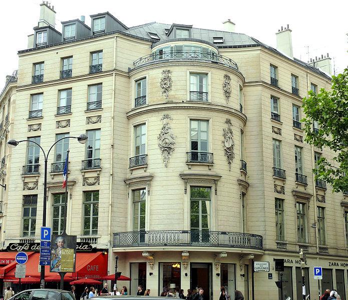 Photo du Monument Historique Immeuble ou ancien Hôtel de la Haye situé à Paris 9e Arrondissement