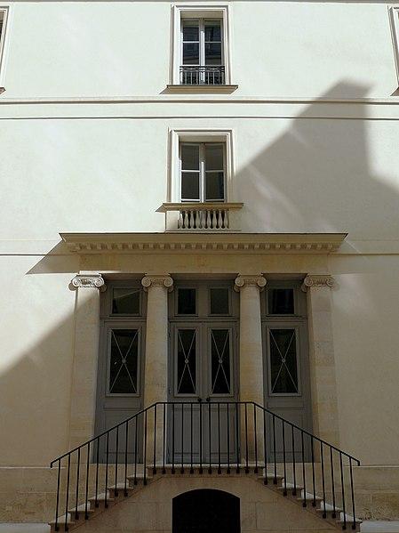 Photo du Monument Historique Immeuble, dit ancien hôtel Moreau situé à Paris 9e Arrondissement
