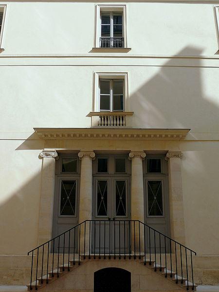 """Photo du Monument Historique Immeuble, dit """"ancien hôtel Moreau"""" situé à Paris 9e Arrondissement"""