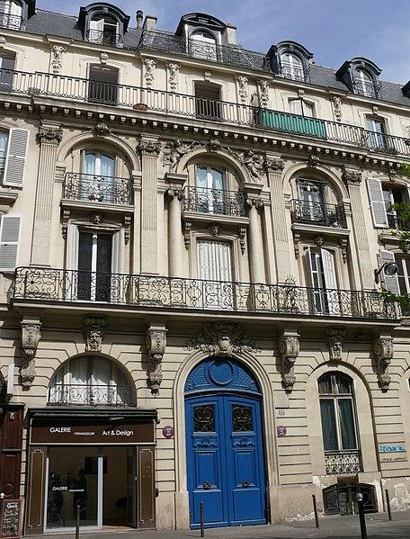 Photo du Monument Historique Immeuble situé à Paris 9e Arrondissement