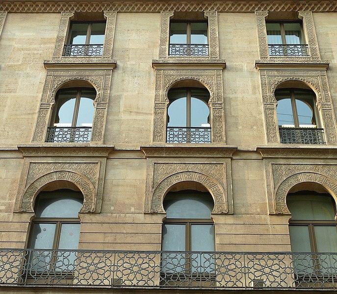 Photo du Monument Historique Immeuble (anciens Bains Turcs) situé à Paris 9e Arrondissement