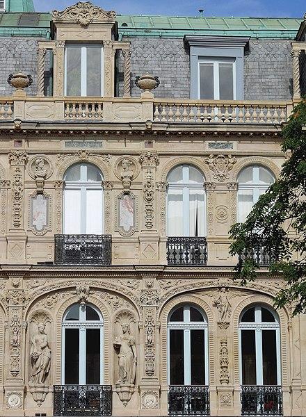 Photo du Monument Historique Immeuble ou hôtel de Bernis situé à Paris 9e Arrondissement