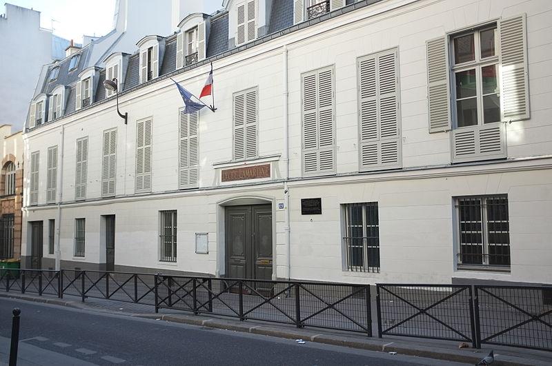 Photo du Monument Historique Lycée Lamartine situé à Paris 9e Arrondissement
