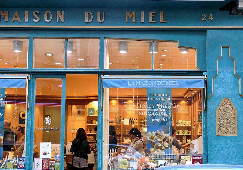 Photo du Monument Historique Marchand de miel situé à Paris 9e Arrondissement