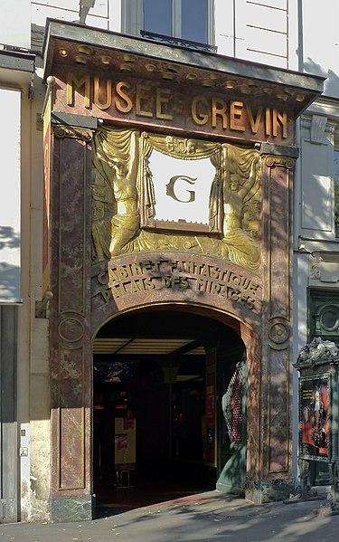 Photo du Monument Historique Musée Grévin (voir aussi : passage Jouffroy) situé à Paris 9e Arrondissement