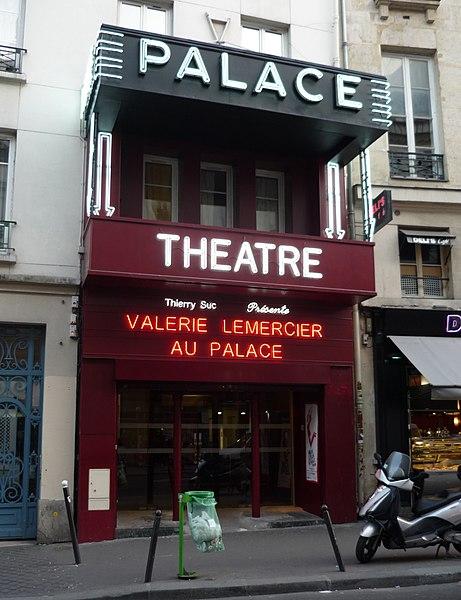 Photo du Monument Historique Le Palace situé à Paris 9e Arrondissement