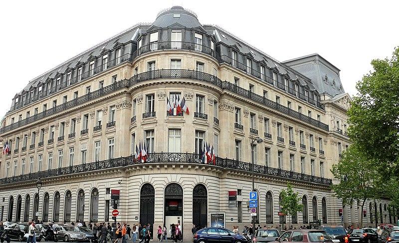 Photo du Monument Historique Immeuble de la Société Générale situé à Paris 9e Arrondissement