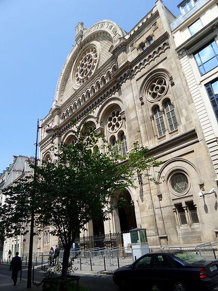 Photo du Monument Historique Synagogue situé à Paris 9e Arrondissement