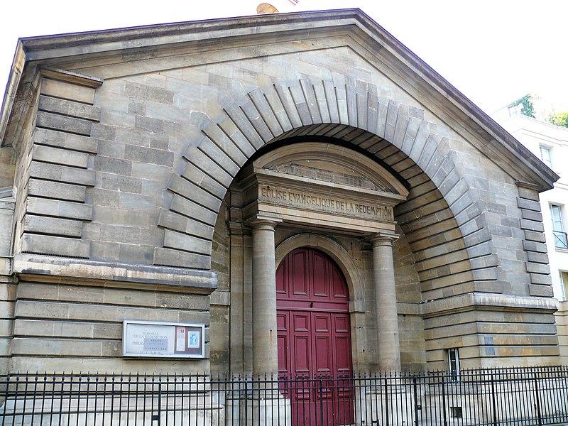 Photo du Monument Historique Temple de la Rédemption situé à Paris 9e Arrondissement