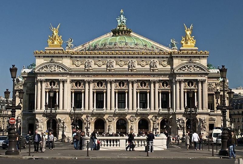 Photo du Monument Historique Théâtre national de l'Opéra, dit opéra Garnier situé à Paris 9e Arrondissement