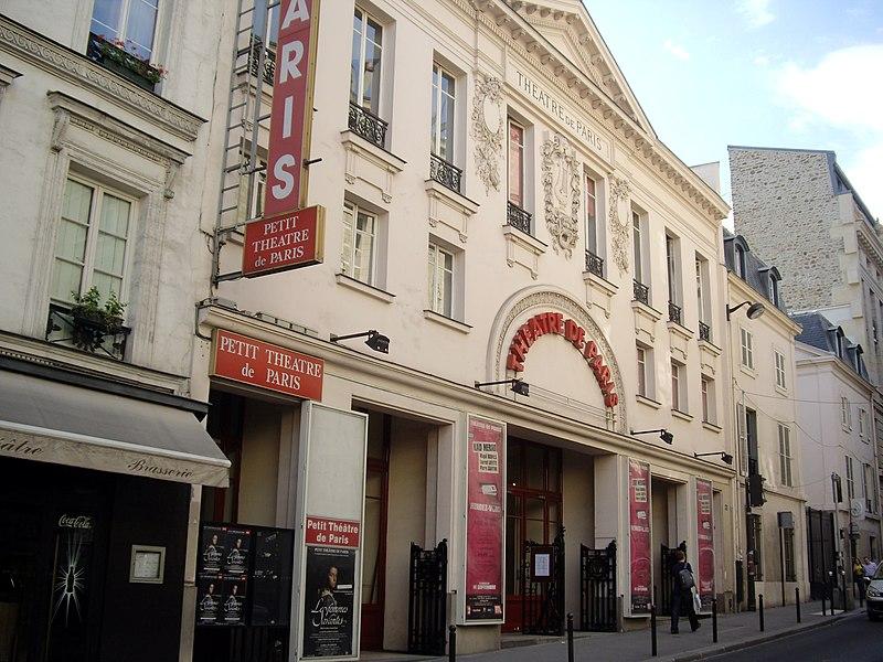 Photo du Monument Historique Théâtre de Paris situé à Paris 9e Arrondissement