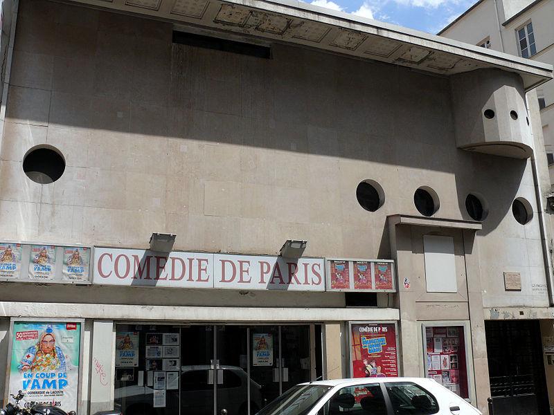 Photo du Monument Historique Comédie de Paris situé à Paris 9e Arrondissement