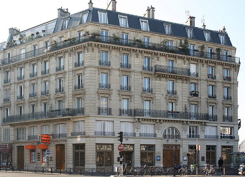 Photo du Monument Historique Théâtre des Bouffes du Nord situé à Paris 10e Arrondissement