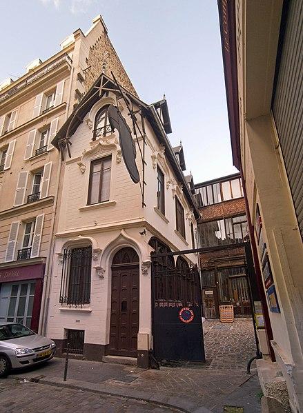 Photo du Monument Historique Ensemble immobilier situé à Paris 11e Arrondissement