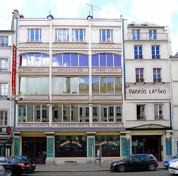 Photo du Monument Historique Ancien magasin de meubles Gouffé situé à Paris 12e Arrondissement