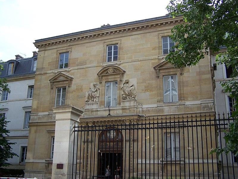 Photo du Monument Historique Ecole normale supérieure situé à Paris 5e Arrondissement