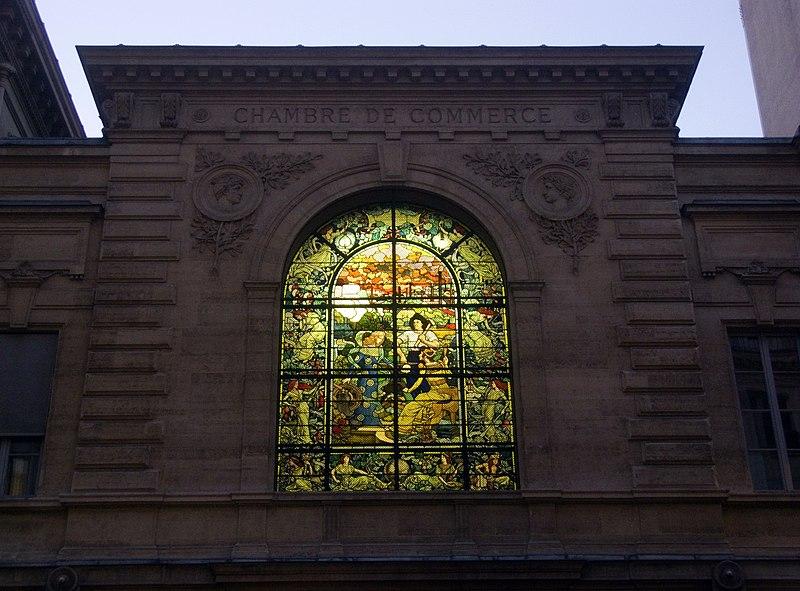 Photo du Monument Historique Ancien siège de la Chambre de Commerce de Paris situé à Paris 2e Arrondissement