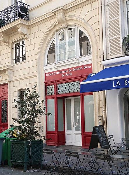 Photo du Monument Historique Foyer de l'Union chrétienne des Jeunes Gens de Paris situé à Paris 9e Arrondissement