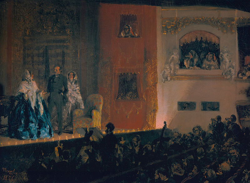 Photo du Monument Historique Théâtre du Gymnase situé à Paris 10e Arrondissement
