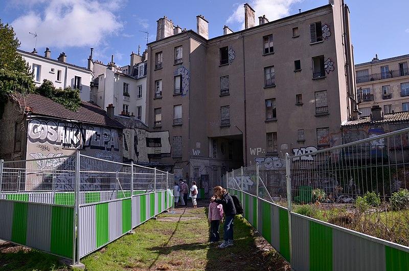 Photo du Monument Historique Carrière souterraine du chemin de Port-Mahon situé à Paris 14e Arrondissement