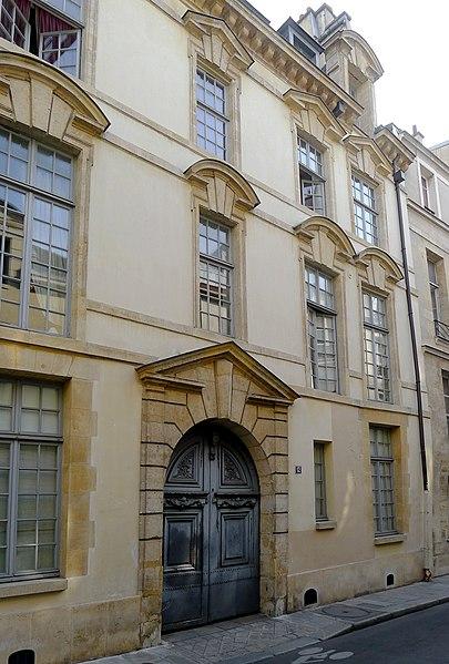 Photo du Monument Historique Hôtel de Launay situé à Paris 4e Arrondissement