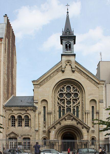 Photo du Monument Historique Eglise luthérienne de Bon-Secours situé à Paris 11e Arrondissement