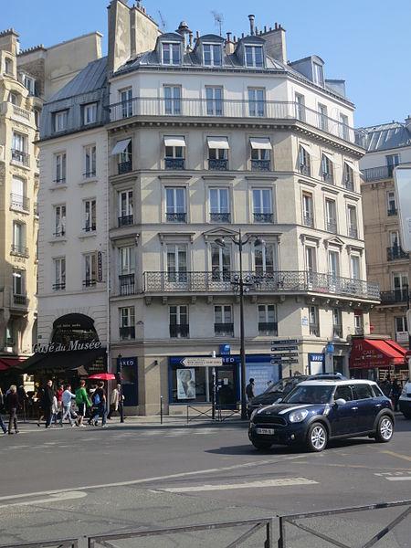 Photo du Monument Historique Immeubles situé à Paris 1er Arrondissement