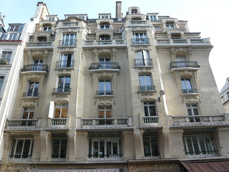Photo du Monument Historique Immeuble (Siège de la Semeuse de Paris) situé à Paris 1er Arrondissement