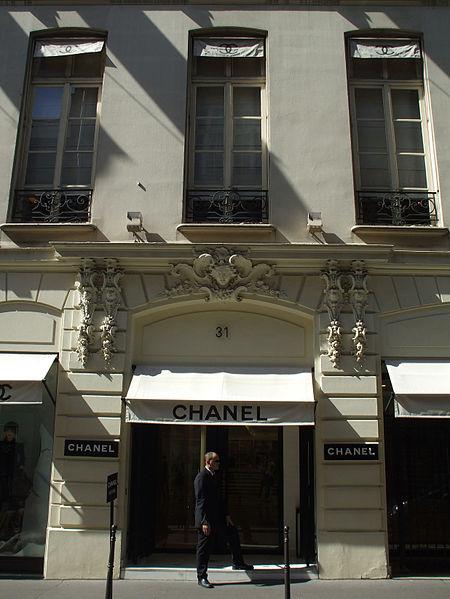 Photo du Monument Historique Ancien appartement de Gabrielle Chanel (dite Coco Chanel), sis dans l'immeuble 31, rue Cambon situé à Paris 1er Arrondissement