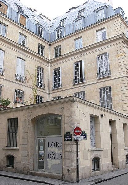 Photo du Monument Historique Immeuble (ancien hôtel d'Osmont) situé à Paris 2e Arrondissement
