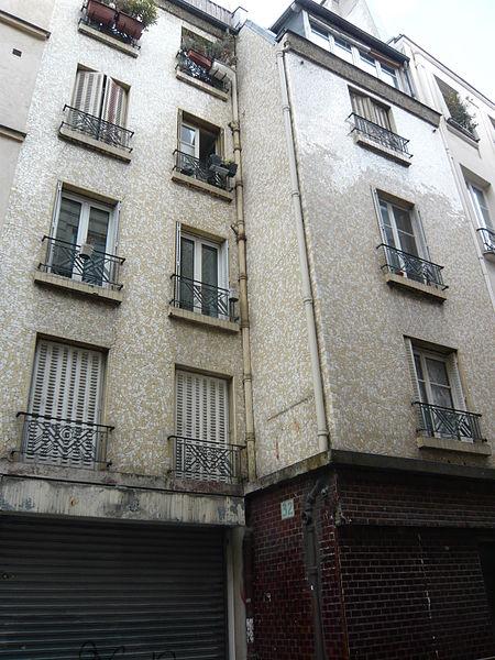 Photo du Monument Historique Immeuble (ancienne maison close) situé à Paris 2e Arrondissement