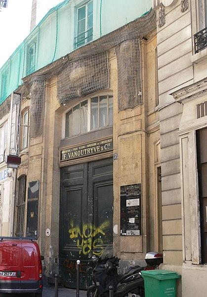 Photo du Monument Historique Ancien hôtel Rivié situé à Paris 2e Arrondissement