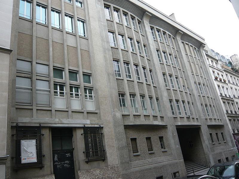 Photo du Monument Historique Central téléphonique situé à Paris 3e Arrondissement