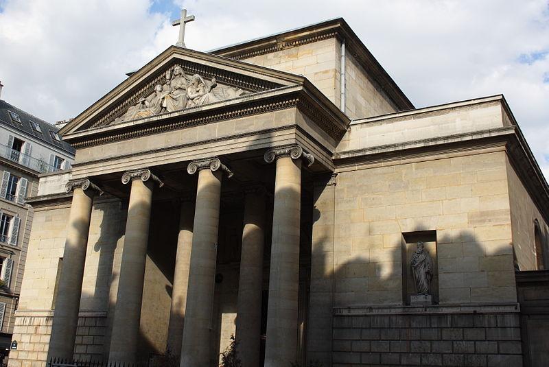 Photo du Monument Historique Église Saint-Denis-du-Saint-Sacrement situé à Paris 3e Arrondissement