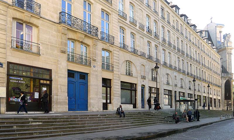 Photo du Monument Historique Immeubles situé à Paris 4e Arrondissement