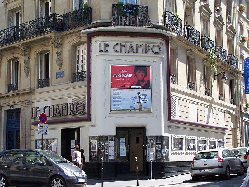 Photo du Monument Historique Cinéma Le Champollion situé à Paris 5e Arrondissement