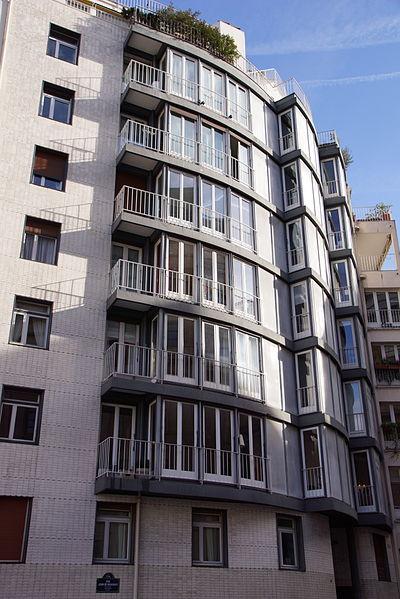 Photo du Monument Historique Immeuble Le Couteur situé à Paris 5e Arrondissement