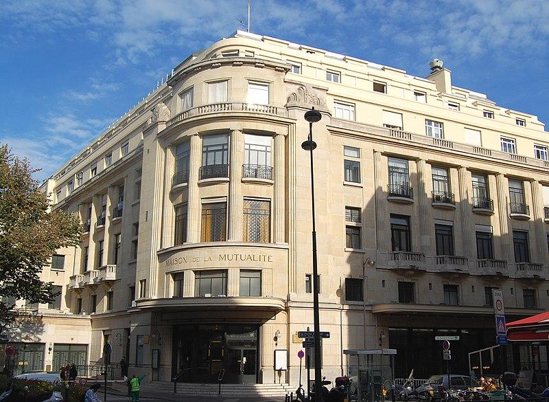 Photo du Monument Historique Maison de la Mutualité ou Palais de la Mutualité situé à Paris 5e Arrondissement