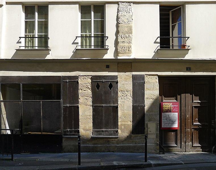 Photo du Monument Historique Ancien hôtel Séguier, devenu hôtel d'O, puis hôtel de Luynes situé à Paris 6e Arrondissement