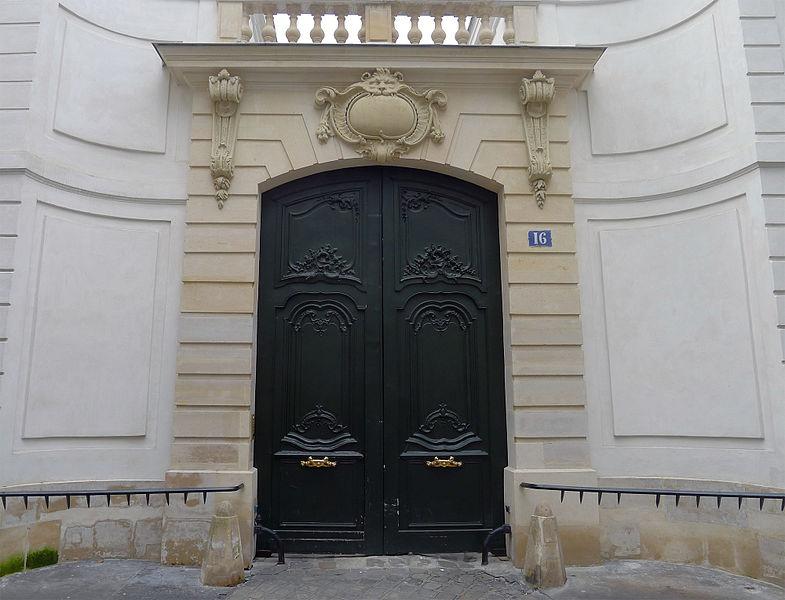 Photo du Monument Historique Hôtel dit Séguier situé à Paris 6e Arrondissement