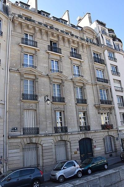 Photo du Monument Historique Ancien hôtel de Stahrenberg situé à Paris 7e arrondissement