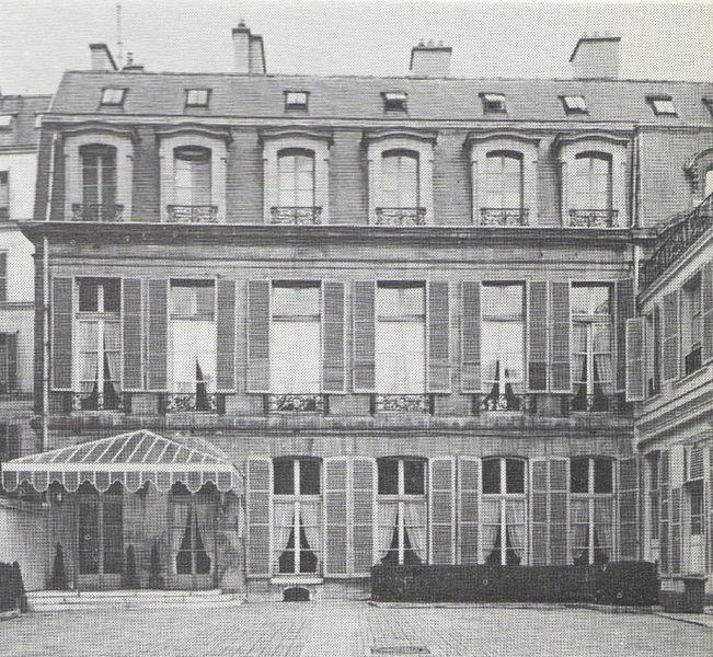 Photo du Monument Historique Immeuble, ancien Hôtel de Nointel, ancien hôtel de Pouulpry, actuellement Maison des Polytechniciens situé à Paris 7e Arrondissement