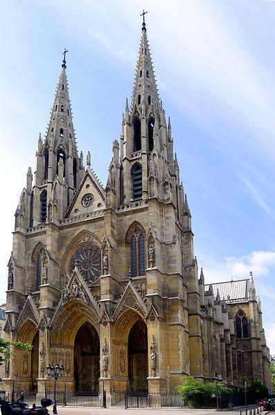 Photo du Monument Historique Basilique Sainte-Clotilde et Sainte-Valère situé à Paris 7e Arrondissement