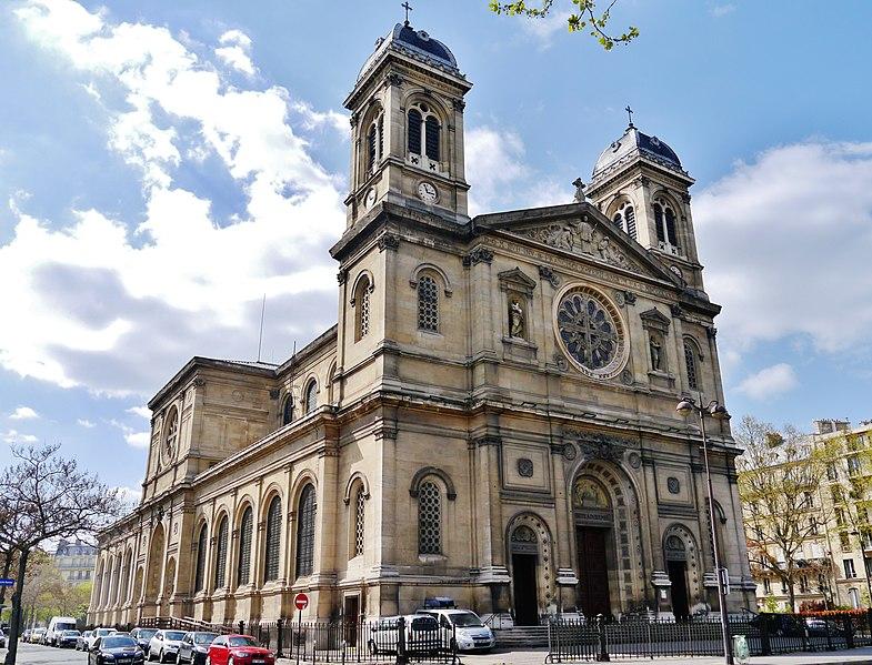 Photo du Monument Historique Église Saint-François-Xavier situé à Paris 7e Arrondissement