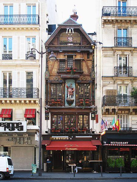 """Photo du Monument Historique Brasserie """"Au Roi de la Bière"""" - Jacqueminot-Graff situé à Paris 8e Arrondissement"""