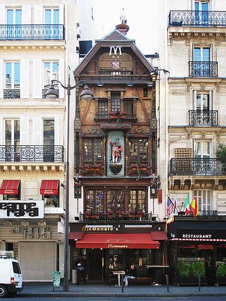 Photo du Monument Historique Brasserie Au Roi de la Bière - Jacqueminot-Graff situé à Paris 8e Arrondissement