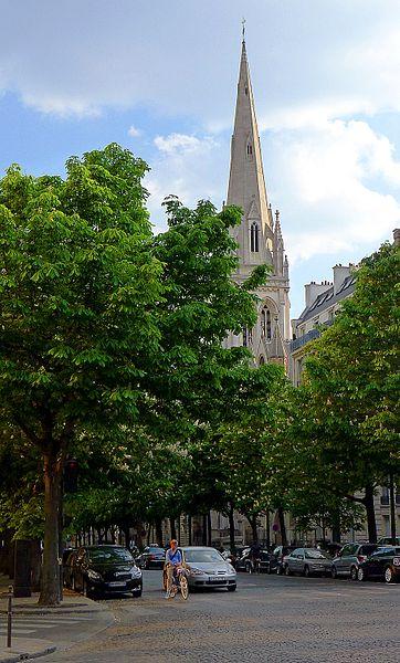 Photo du Monument Historique Cathédrale américaine de Paris situé à Paris 8e Arrondissement