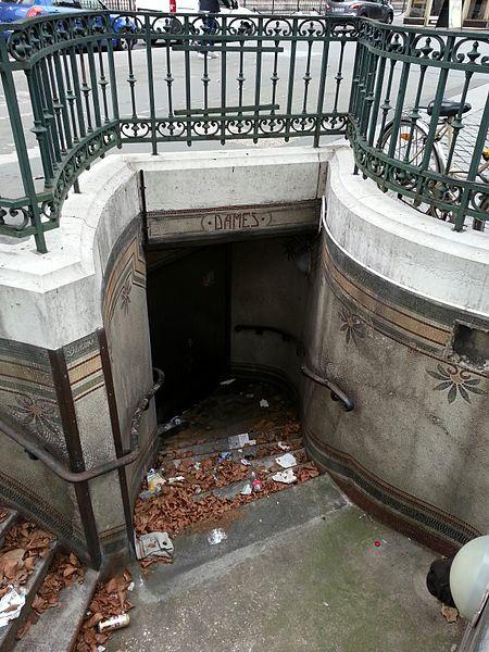 Photo du Monument Historique Lavatory Madeleine situé à Paris 8e Arrondissement