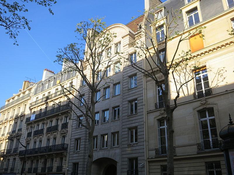 Photo du Monument Historique Immeuble de la Banque Transatlantique situé à Paris 8e arrondissement